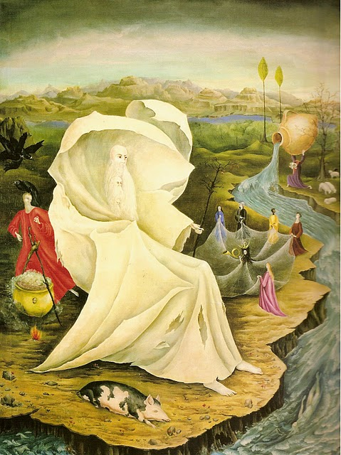 Leonora Carrington_tempttion of st anthony