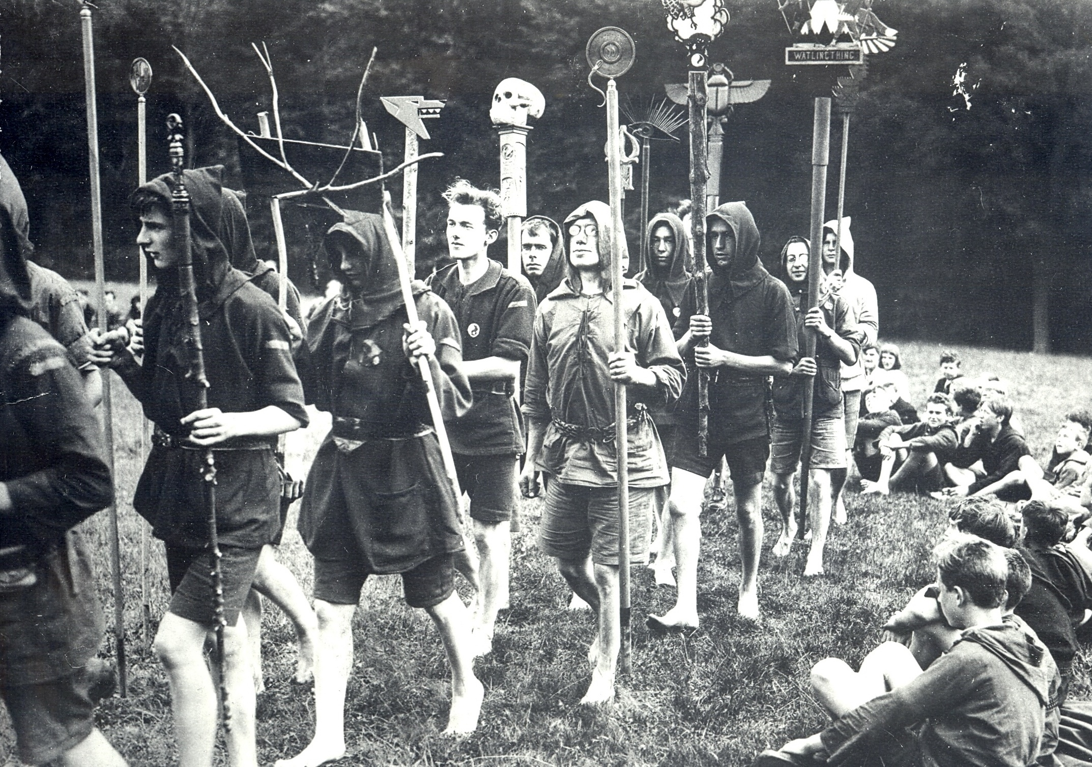 Image-5-Kibbo-Kift-Kindred-men-and-boys-on-camp-parade-with-totems-1925